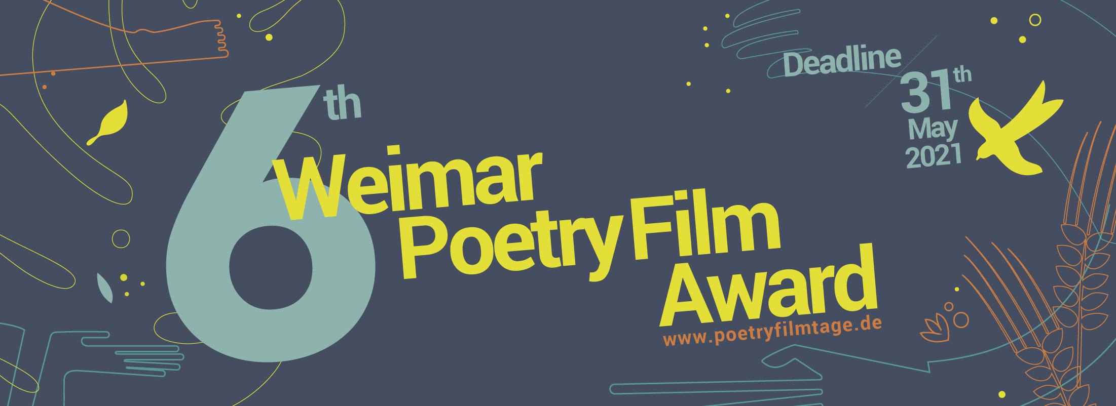 6th Weimar Poetry Film Award
