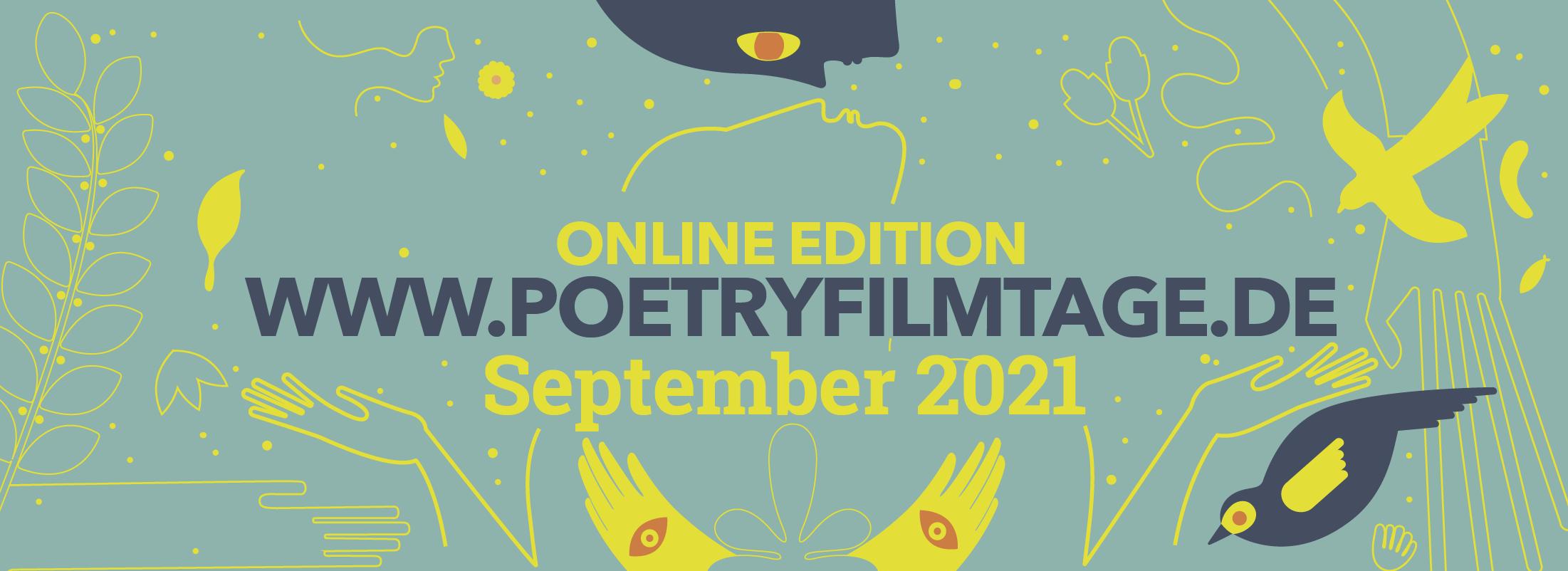 Poetry Film Festival of Thuringia - September 2021